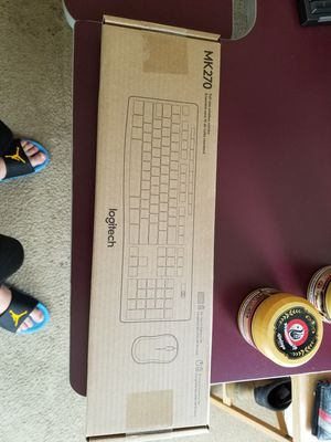 Logitech MK270 Wireless Mouse and Keyboard Combo for Sale in Clarksville, IN