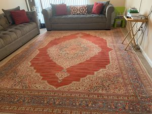 Hand made rug good condition and nice size 13/16 for Sale in Ashburn, VA