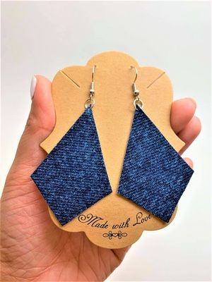 Diamond Denim Earring For Women for Sale in Peoria, IL