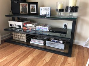 Crate & Barrell Tv stand/shelves for Sale in Arlington, VA