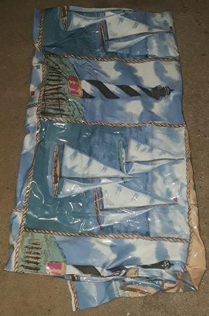 Nautical shower curtain for Sale in Virginia Beach, VA