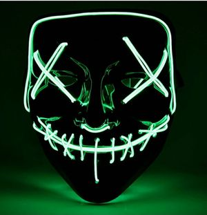 Halloween Led Purge Mask GREEN for Sale in Fontana, CA