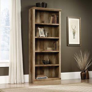 Sauder East Canyon 5 Shelf Bookcase, Craftsman Oak finish for Sale in Sterling, VA