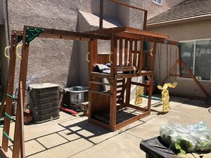 Swing set with Slide and monkey bars . for Sale in Clovis, CA
