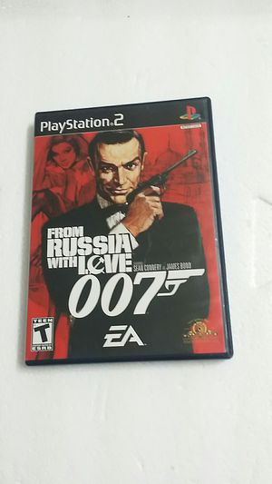 From Russia with love 007, PS2 for Sale in El Cajon, CA