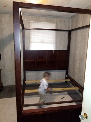 Queen Bed Frame for Sale in Perkinston, MS
