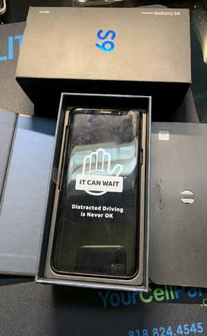 Brand AT&T Unlocked Galaxy S9 for Sale in Madison Heights, MI