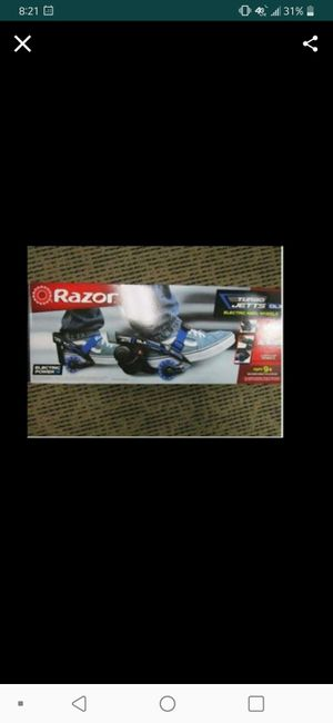 Razor Turbo Jetts Motorized Heel Skates for Sale in Lake Forest, CA