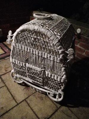 White bird cage for Sale in Dearborn, MI