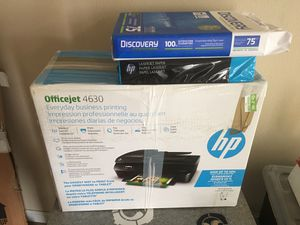 Printer with paper for Sale in Minot, ND