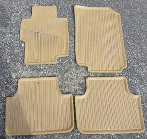 2004 -2008 Acura TSX tan all season rubber floor mats for Sale in Los Angeles, CA