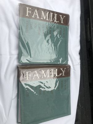 Two Family Photo Albums , New for Sale in Glenshaw, PA