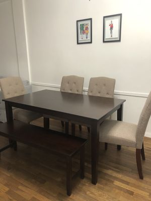 Dining Room Table with Bench for Sale in New York, NY