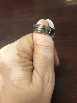 Sterling silver two toned unisex ring size 8 for Sale in Millersville, MD