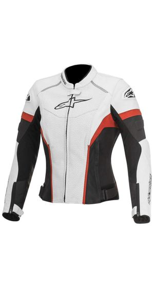 New Alpinestars GP Plus R Perforated Women's Street Motorcycle Jackets - White/Black/Red / Size 42 for Sale in Miami, FL
