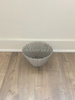 Metal Woven Decorative Basket for Sale in San Francisco, CA