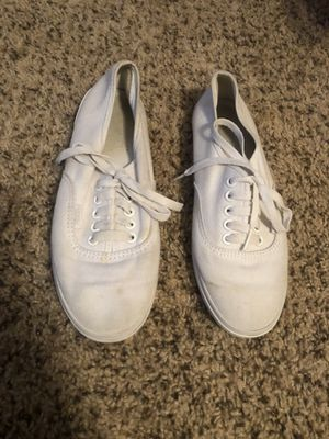 White Vans size woman's size 7.5 men's size 6 for Sale in Kennewick, WA