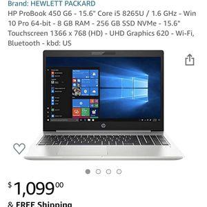 HP ProBook 450 G6 for Sale in Pompano Beach, FL