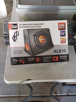 "10"" speaker + 300W Amp amplifier Combo Dual system for Sale in Chandler, AZ"