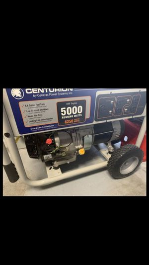 Firm Centurión generator the best edition 6000 Watts Brand new never used for Sale in Lake Worth, FL