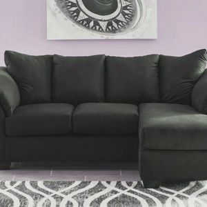 👉Fast Delivery❤[SPECIAL] Darcy Black/Salsa/Blue Sofa Chaise by Ashley for Sale in Laurel, MD