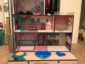 Doll house LOL brand for Sale in San Marino, CA