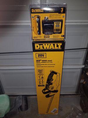 New dewalt 20v MAX hedge trimmer kit for Sale in Ashburn, VA