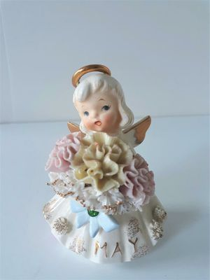 Vintage May Birthday Angel George Z Lefton Porcelain for Sale in Seattle, WA
