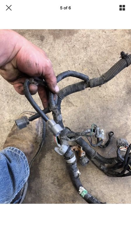 92 93 94 Honda Civic engine wiring harness d15b7 D15b for Sale in Carson, D B Wiring Harness on