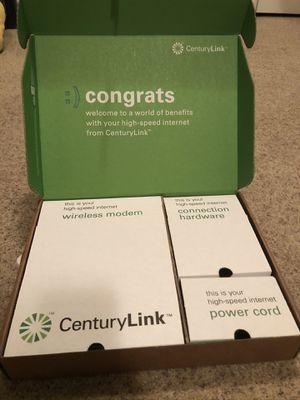 Century Link wireless modem Zyxel C1000Z for Sale in Orem, UT