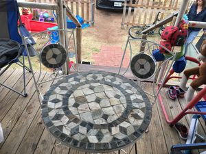 Patio Table and chairs for Sale in Midland, TX