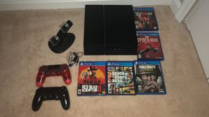 SONY PlayStation 4 CUH-1215A 500 GB + GAMES & EXTRAS *ALL TESTED & WORKING* for Sale in Woodbridge, VA