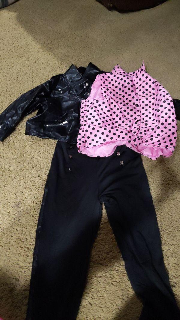 Girl's Greaser Costume