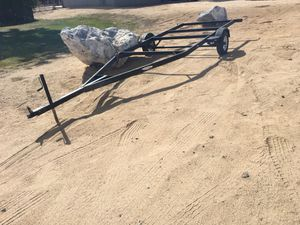 Pontoon boat trailer or whatever for Sale in Victorville, CA