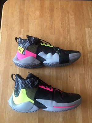Brand new Nike air Jordan why not zero.2 IDC Russell Westbrook shoes men's size 13 for Sale in El Cajon, CA