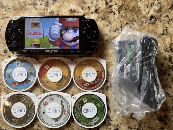 Psp loaded with 7500+ games