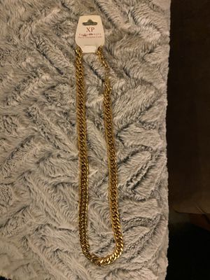 Gold plated chain (Not real gold) for Sale in Oakdale, CA
