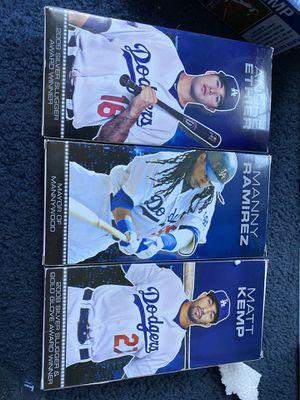 Dodgers Action figures Andre Ethier Matt Kemp Manny Ramirez 2000s for Sale in Lynwood, CA