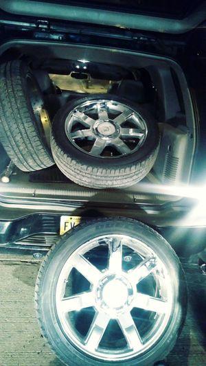 Cadillac rims 22 for Sale in Alexandria, VA