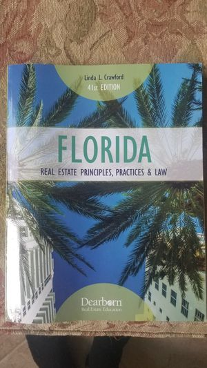 Florida real estate book for Larson online for Sale in Cape Coral, FL