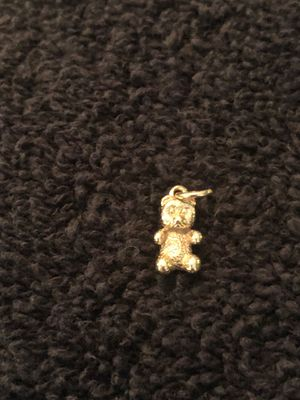 James Avery Super Rare 24k Golden Bear Charm for Sale in Dallas, TX