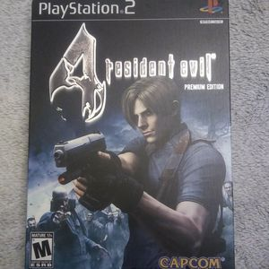 Premium Edition Resident Evil 4 Steelbook Cover For PlayStation / PS2 for Sale in San Lorenzo, CA