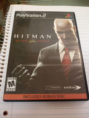 -hitman -Ps2- Games- controller - tv- 720p-1080i for Sale in Naples, FL