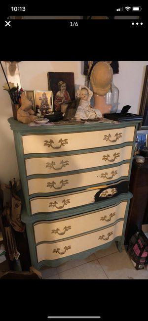 Vintage Antique Tall Dresser MUST GO !!! for Sale in Fort Lauderdale, FL