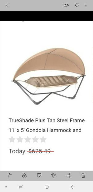New Deluxe Hammock with Removable and Adjustable Canopy for Sale in Nashville, TN