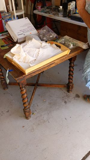 Barley twist leg table with leaves for Sale in Chula Vista, CA