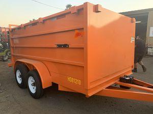 New Dump trailer 8x12x4 12000lb gvw $5250 cash for Sale in Escondido, CA