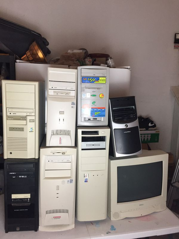 NEED GONE HUGE COMPUTER LOT FOR PARTS 9 COMPUTER MESSAGE ME FOR MORE INFO