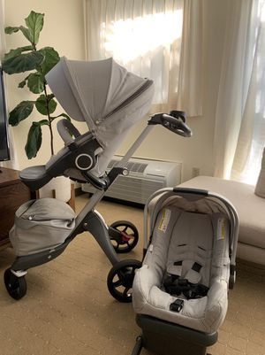 Stokke Xplory stroller & Nuna PIPA car seat for Sale in Honolulu, HI