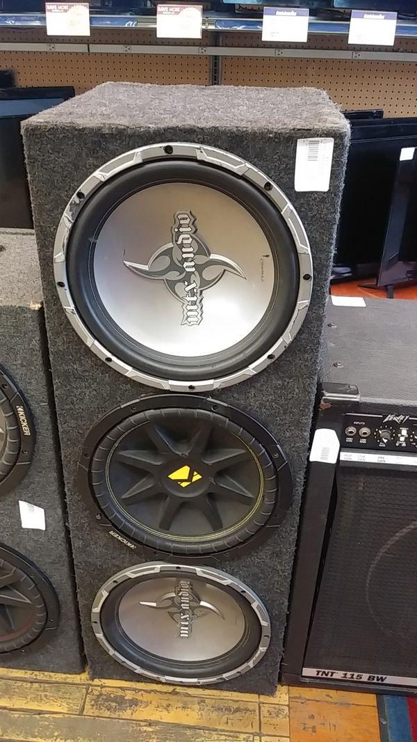 Mix Audio Speaker box
